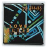 Def Leppard - 'Love Bites' Square Badge